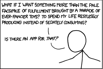 An xkcd comic about consuming