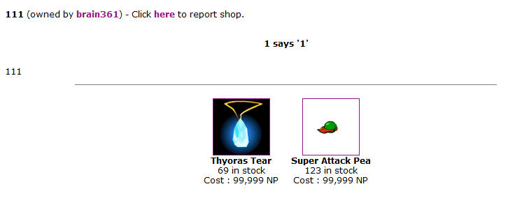 Stories From the Neopets Economy