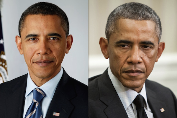 Obama before and after presidency